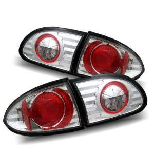 95 02 Chevy Cavalier Chrome Tail Lights Automotive