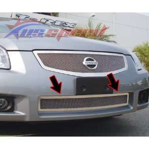 2007 08 Nissan Maxima Chrome Wire Mesh Grille   Lower