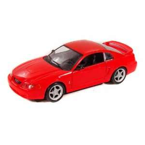 1999 Ford Mustang Cobra 1/24 Red Toys & Games