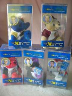 SYNC BOY BAND (SET OF 5) Collectible Bears Ltd.Ed/Numbered~SEALED