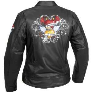 River Road Angel/Devil Graphix Jacket Small XF09 4833 Automotive