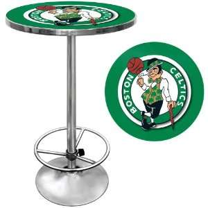Boston Celtics NBA Chrome Pub Table   Game Room Products