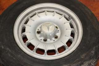 Mercedes Benz Wheel Tire 195 70 14 Rim 5 Lug