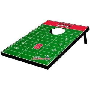 State Wolf Pack Decal Football Bean Bag Toss Game