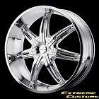 22 x9.5 KMC Wheels KM665 Surge Chrome 5 6 Lug Rims FREE