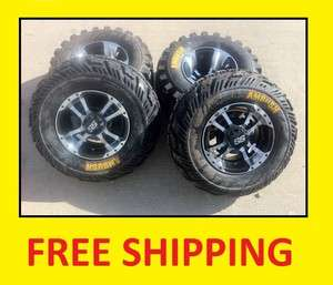 NEW Honda 400EX ITP SS112 Black Machine RIMS on CST Ambush Tires