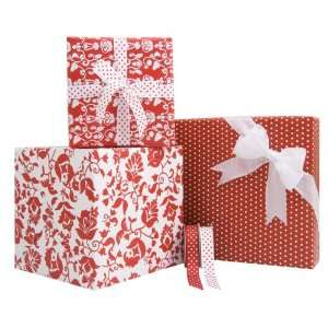 Gift Wrap Company Red, White And Wow Gift Wrap And Ribbon