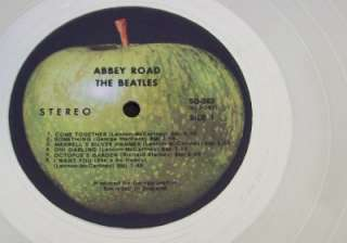 The Beatles Abbey Road PLATINUM (White Gold ) LP Record Album Disc