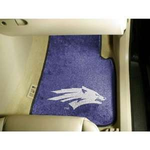 Nevada Reno Wolf Pack NCAA Car Floor Mats (2 Front)