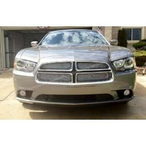 Dodge Charger Chrome Mesh Grille Insert 2011 2012