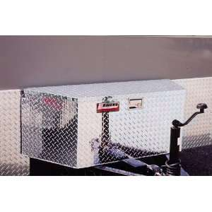 Aluminum Trailer Tongue Box   49 with shocks