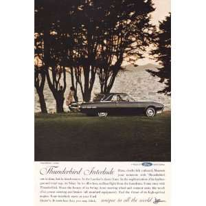Thunderbird Interlude Vintage Ad   1960s (Hard Top   Ford
