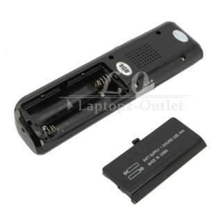 NEW 8GB Digital Audio SPY Voice Recorder USB  Player Black