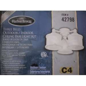 Harbor Breeze/Westinghouse Indoor/Outdoor Ceiling Fan Light Bells Kit