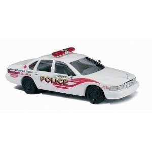 Busch HO (1/87) Goderich Canada Police Chevy Caprice Toys