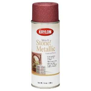 Make It Stone Metallic Textured Aerosol Spray Paint, 12 Ounce, Copper