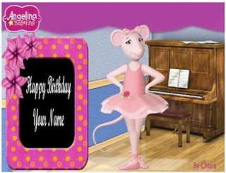 Angelina Ballerina   Edible Cake Topper   $3shipping