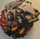 IRON MAIDEN MERLIN CARDS STICKERS TATTOOS COMPLETE SET