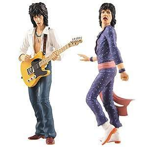 Rolling Stones Mick Jagger & Keith Richard Action Figures