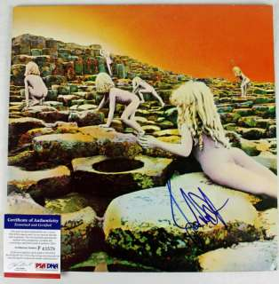 JOHN PAUL JONES LED ZEPPELIN SIGNED ALBUM COVER W/ VINYL PSA/DNA