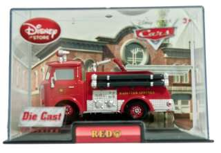 Disney Cars 1 Red Die Cast Car In Collectors Case