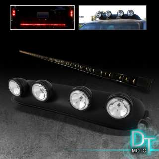 LED TAILGATE TAIL LIGHT BAR + ROOF TOP FOG LIGHT SUV TRUCK 4X4 JEEP