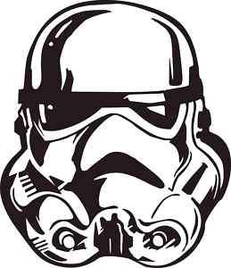 Starwars Stormtrooper Vinyl Decal, Sticker, Car Graphic