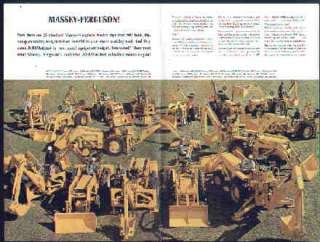 Massey Ferguson Industrial Tractor & Equipment Brochure