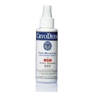 CRYODERM Pain Relieving Spray 4 oz  Health