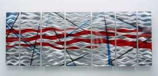 Jon Allen Fine Crafted Modern Metal Abstract Wall Art Painting decor