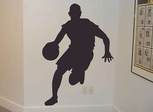 Basketball Player Removable Vinyl Wall Art Decal
