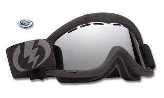 Brand New ELECTRIC EG1 Snow Ski Goggles   Matte Black / Chrome Mirror