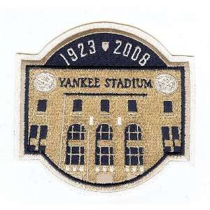 New York Yankees Yankee Stadium Final Season Logo Patch