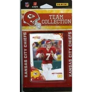 2010 Score NFL Kansas City Chiefs Complete Team Set