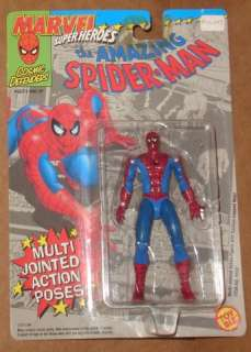 Toy Biz Spider Man Multi Jointed Action Figure MOC New