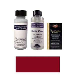 2 Oz. Dark Maple (Autumn Maroon) Metallic Paint Bottle Kit