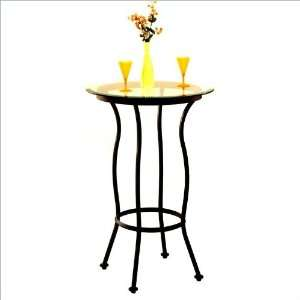 42 Round Tempo Martini Swivel Bar Height Pub Table