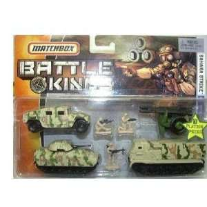Matchbox Battle Kings Sahara Strike Military Set Toys