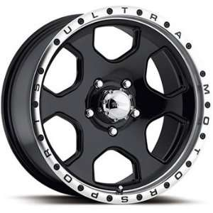 Rouge 18x10 Black Wheel / Rim 8x170 with a  25mm Offset and a 130.18