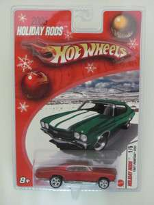 HOT WHEELS 2005 HOLIDAY RODS 1967 PONTIAC GTO #1/5 RED