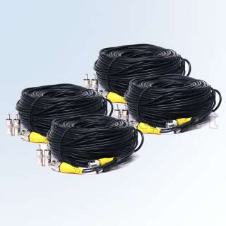 Surveillance Security CCTV Camera Video Power Extension Cable Wire