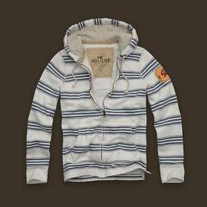HOLLISTER MEN HOODIE SWEATSHIRT SWEATER JACKET M, L, XL