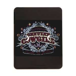 iPad 5 in 1 Case Matte Black Genuine Cowgirl Love To Ride