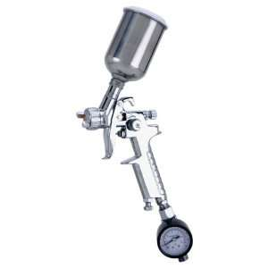 Grizzly H7670 Mini HVLP Spray Gun, Stainless Steel Cup