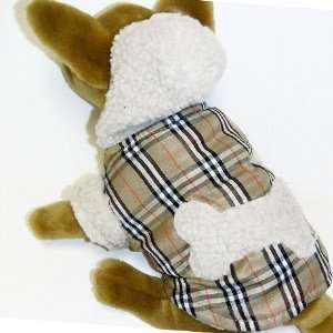 Brown Plain Hoodie Jacket pet dog clothes APPAREL Chihuahua Teacups