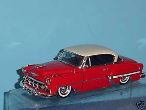 1953 CHEVY BEL AIR STOCK 124 RED & WHITE