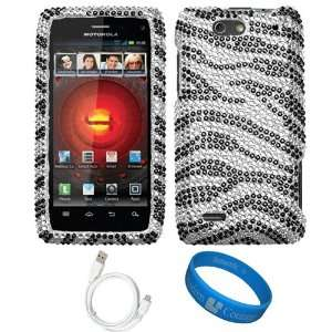 Smartphone + White Micro USB Data Cable + SumacLife TM Wisdom*Courage