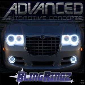 Chrysler 300C LED Rings Headlights HALO KIT Demon Eyes