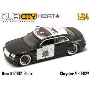 Jada Dub City Heat Chrysler 300C Police Car 164 Scale Die