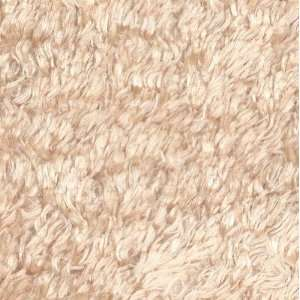 60 Wide Teddy Bear Fur Silky Buff Fabric By The Yard